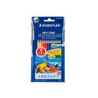 ステッドラー ノリスクラブ 水彩色鉛筆 12色セット (PPパッケージ仕様) 144 10NC12P 1セット(12色セット×5セット) (取寄品)