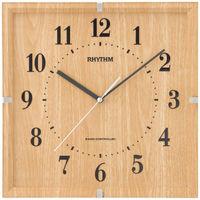 リズム時計(RHYTHM) ライブリーエミリ ナチュラル 8MY502SR07 [電波 掛け 時計] 1個
