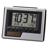 CITIZEN(シチズン) ソーラー電波卓上時計 8RZ186-019 [ソーラー 電波 置き 時計] 1個