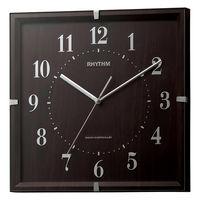 リズム時計(RHYTHM) ライブリーエミリ ブラウン 8MY502SR06 [電波 掛け 時計] 1個