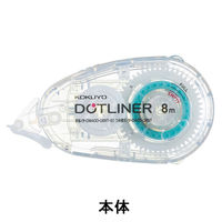 テープのりドットライナー透明・短尺(本体) タ-DM400-08T-S1