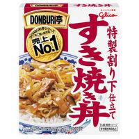 江崎グリコ DONBURI亭 すき焼き丼 170g 1食