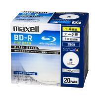 マクセル データ用BD-R 20枚 ワイドプリント対応 BR25PPLWPB.20S 1パック(20枚入)