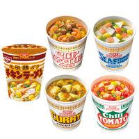 日清食品 カップヌードルケース詰合せセット 1箱(100食入)
