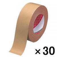 寺岡製作所 布テープ オリーブテープ No.141 0.37mm厚 幅50mm×長さ25m巻 茶 1箱(30巻入)