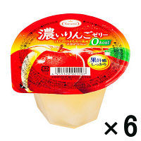 たらみ 濃いりんごゼリー0kcal 6個