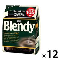 ブレンディ インスタントコーヒー 粉 詰替 210g
