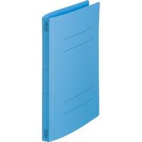キングジム フラットファイルクイックイン A4タテ 青 4432 1袋(10冊入)