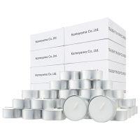 カメヤマキャンドルハウス 業務用ECOキャンドル ティーライトティン 1箱(800個:100個入×8箱)