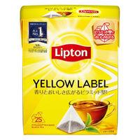 リプトン リプトンイエローラベルピラミッド型バック 1箱(150バッグ:25バッグ入×6箱)