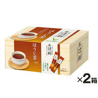 辻利 インスタントほうじ茶 1セット(200本:100本入×2箱)