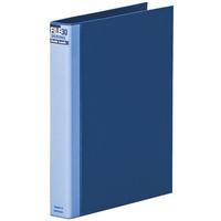 マルマン ダブロックファイル A4タテ 背幅44mm ブルー F949RS-02 5冊