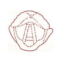 サンビー 人体図ゴム印 咽喉46 JING-46 (取寄品)