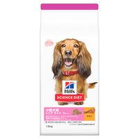 サイエンス・ダイエット ドッグフード 小型犬 シニアライト高齢犬用 1.5kg 1袋 日本ヒルズ・コルゲート