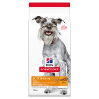 サイエンス・ダイエット ドッグフード シニアライト 小粒 肥満高齢犬用 1.4kg 1袋 日本ヒルズ・コルゲート