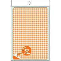 ヒサゴ プライバシール・オレンジ (5シート入り) QP702S(取寄品)