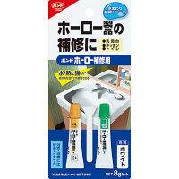 コニシ ボンド 接着剤 ホーロー補修用 ホワイト 8gセット #16621 1箱(5個入) (取寄品)