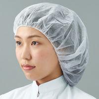 不織布アイソレーションヘアキャップ ホワイト 7047W 1セット(1000枚)川西工業