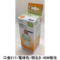 オーム電機 エコ電球D型40WE17電球色 EFD10EL/7-E17-SPN 1箱(24個入)