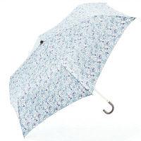 花柄 ミニ傘 ブルー