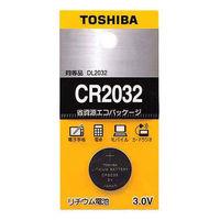東芝 コイン形リチウム電池 CR2032EC 1箱(5個入)