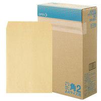 アスクル オリジナルクラフト封筒テープ付 角2 1200枚