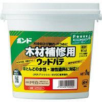 コニシ ボンド ウッドパテ タモ白 1kg #25824 1箱(12個入) (取寄品)