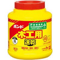 コニシ 木工用速乾 3kg #40303 1箱(6個入) (取寄品)