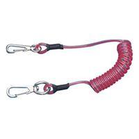 スーパーツール 安全ロープ(ステンレスワイヤー芯) ARS30R 1本 363ー4892 (直送品)