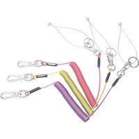 スーパーツール 安全ロープ(ステンレスワイヤー芯) ARS10Y 1本 344ー4201 (直送品)