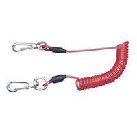 スーパーツール 安全ロープ(ステンレスワイヤー芯) ARS20R 1本 344ー4228 (直送品)