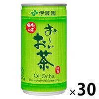 伊藤園 おーいお茶 190g 1箱(30缶入)