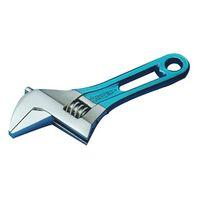 スーパーツール ワイドモンキ レンチショートタイプ(クリアブルー)口開:0~30 MWM30SB 1丁 344ー8657 (直送品)