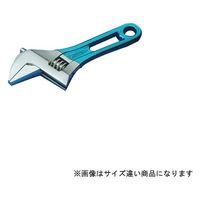 スーパーツール ワイドモンキ レンチショートタイプ(クリアブルー)口開:0~24 MWM24SB 1丁 344ー8614 (直送品)