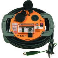 ハタヤリミテッド ハタヤ 負荷電流値設定可変型ELBボックス 電線5m EB5V 1台 307ー2711 (直送品)