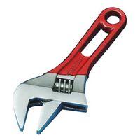 スーパーツール ワイドモンキ レンチショートタイプ(クリアレッド)口開:0~30 MWM30SR 1丁 344ー8673 (直送品)