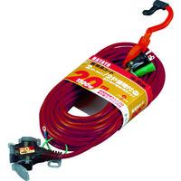 ハタヤリミテッド ハタヤ 2P接地付延長コード 20m ワインレッド SX203KR 1本 370ー4653 (直送品)