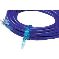 ハタヤリミテッド ハタヤ 2P延長コード 20m ブルー SX203B 1本 370ー4611 (直送品)