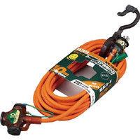 ハタヤリミテッド ハタヤ 2P接地付延長コード 10m オレンジ NX103K 1本 239ー1848 (直送品)