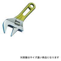スーパーツール ワイドモンキレンチショートタイプ(クリアイエロー)口開:0~36 MWM36SY 1丁 344-8720 (直送品)