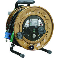 ハタヤリミテッド ハタヤ メタルセンサー(金属感知機能付)リール 単相100V接地付 30m MSB301KX 1台 105ー5607 (直送品)