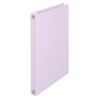 フラットファイル厚とじ A4縦 紫 3冊