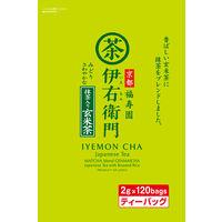 宇治の露製茶 伊右衛門 抹茶入り玄米茶ティーバッグ 1袋(120バッグ入)