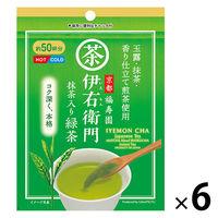 宇治の露製茶 伊右衛門 抹茶入り緑茶インスタント 1セット(40g×6袋)