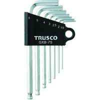 トラスコ中山 TRUSCO ボールポイント六角棒レンチセット 7本組 GXB7S 1セット(7本:7本入×1セット) 125ー2348 (直送品)