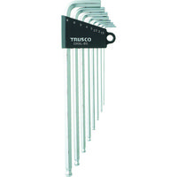 トラスコ中山 TRUSCO ロングボールポイント六角棒セット 8本組 GXBL8S 1セット(8本:8本入×1セット) 125ー2976 (直送品)
