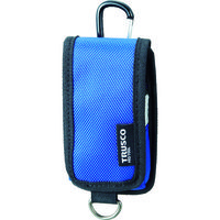 トラスコ中山(TRUSCO) コンパクトツールケース 携帯電話用 ブルー TCTC1202-BL 1個 363-8529 (直送品)