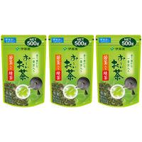 おーいお茶 若芽・若茎入り緑茶500g