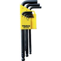 トラスコ中山 TRUSCO ボールポイント式六角棒レンチ 7本組 GB72510 1セット(7本:7本入×1セット) 125-2631 (直送品)