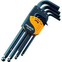トラスコ中山 TRUSCO ボールポイント六角棒レンチセット 標準タイプ 9本組 TBR9S 1セット(9本:9本入×1セット) 366-8827 (直送品)